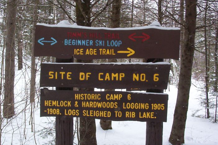 Camp 6 Sign - Trails - 01 a